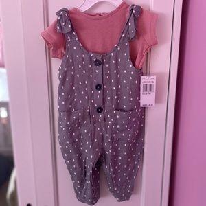 Jessica Simpson baby girl 2 piece jumper